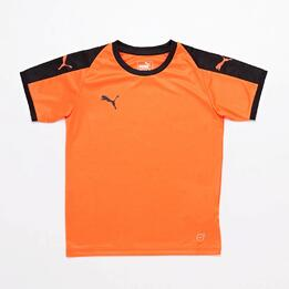 Camiseta Puma Liga Naranja Junior
