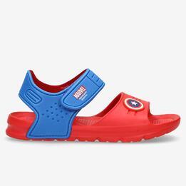 Sandalias Capitán América Niño
