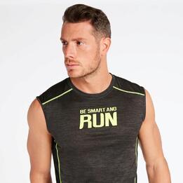 Camiseta Running Gris Ipso Combi