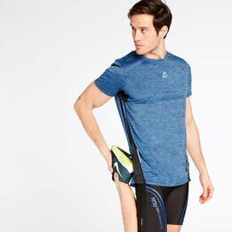 Camiseta Running Azul Ipso Combi 3
