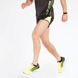 Pantalón Corto Running Negro Ipso Combi