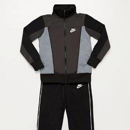 Chándal Nike Negro Junior