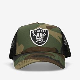 NEW ERA CRO TEAM OAKLAND RAIDERS TRUCKER CMFJE