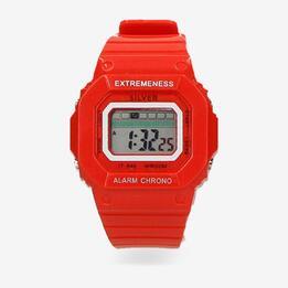 Reloj Rojo Silver