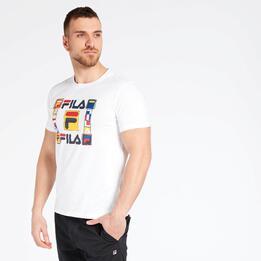 Camiseta Fila Fabio Blanca