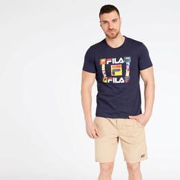 Camiseta Fila Fabio Azul