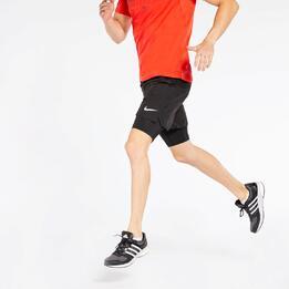 Pantalón Corto + Malla Running Nike