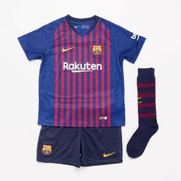 Equipación FC Barcelona Nike Niño