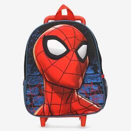 Mochila Carrito Spiderman Roja