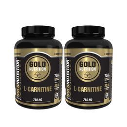 L-Carnitina Gold Nutrition 2 Pack-60cap
