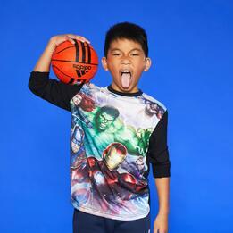 Camiseta Manga Larga Avengers Junior