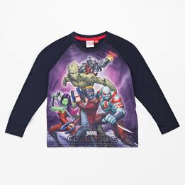 Camiseta Manga Larga Marvel Niño