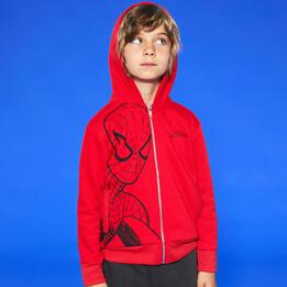 MCS MARVEL KID SUDADERA AB.FELPA P.SPIDERMAN
