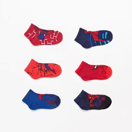 Calcetines Cortos Spiderman