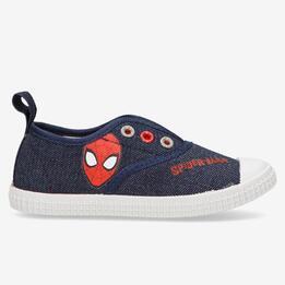 Zapatillas Lona Spiderman