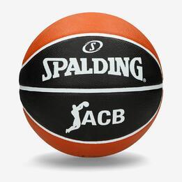 6f2d9cab5e968 Balón de basket Spalding. Balón oficial de la Liga ACB. Compuestopor piel  composite. Talla 7. Perfecto para jugar en todo tipo de superficies.