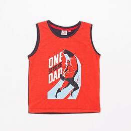 Camiseta Tirantes Los Increíbles Junior