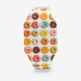 Reloj Silver Led Donut