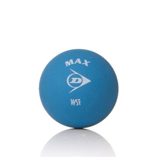 DUNLOP MAX Pelotas Squash Azul