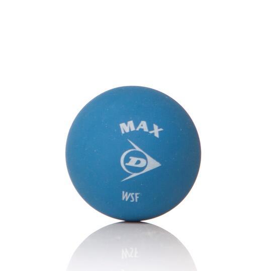 DUNLOP MAX Pelotas Squash Azules