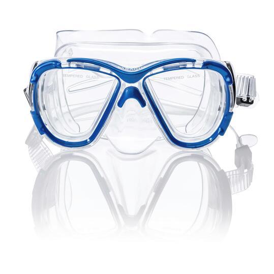 PARAQUA Máscara Buceo Azul