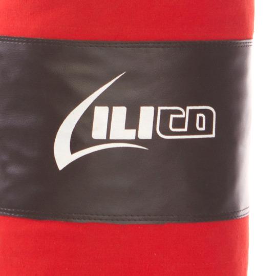 Saco Boxeo Ilico Rojo Negro