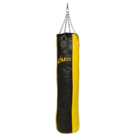 Saco Boxeo ILICO Negro Amarillo