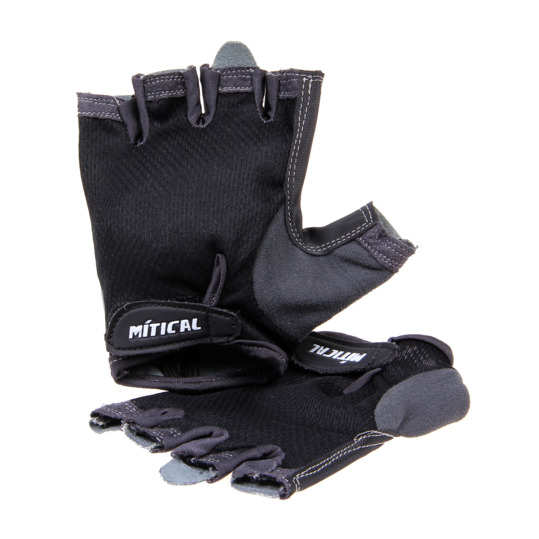 Guantes Ciclismo VELOX MÍTICAL Negro