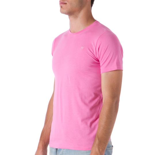 Camiseta UP Manga Corta Hombre color Rosa