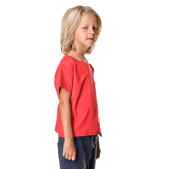 UP Camiseta Manga Corta Roja Niño (1-8)