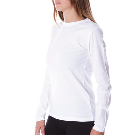 Camiseta Blanca UP Manga Larga Mujer