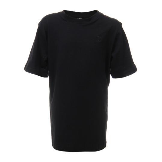Camiseta Básica UP Manga Corta Niño Negro (10-16)