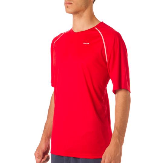 Camiseta PROTON Manga Corta Hombre en Rojo