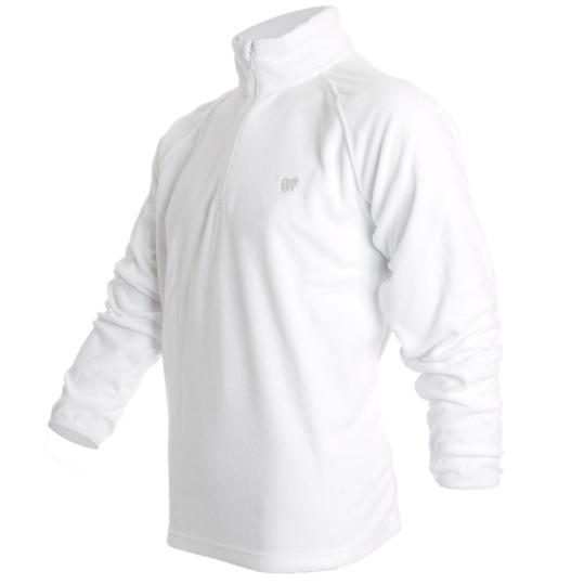 Sudadera UP Polar Hombre en color Blanco