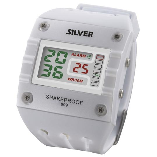 Reloj Sport SILVER Blanco