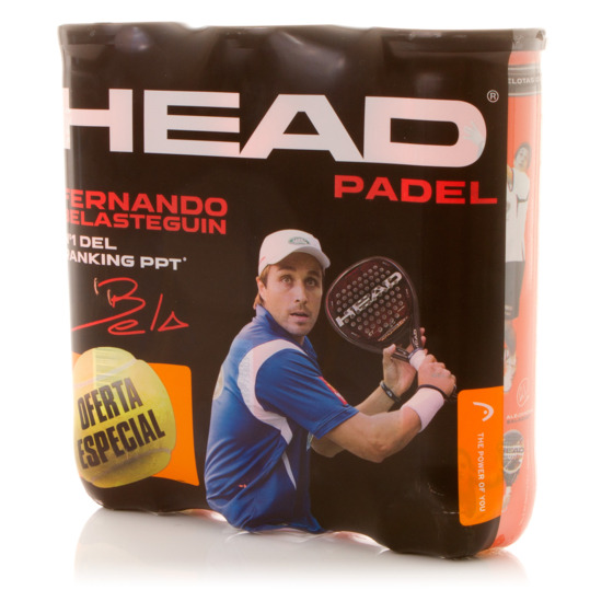 HEAD Tripack Bolas Pádel