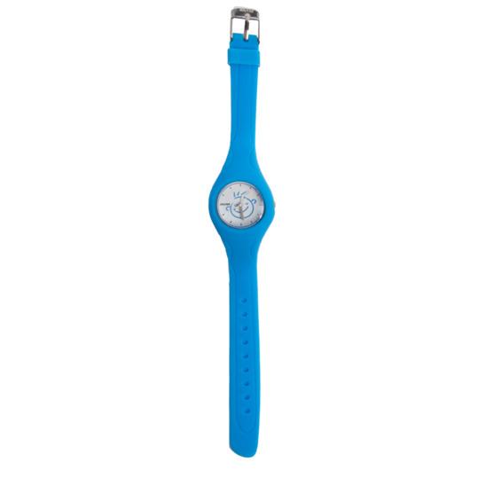 Reloj Goma SILVER Azul Fucsia Niña