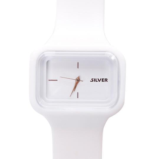 Reloj SILVER en color blanco