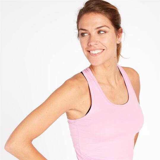 Camiseta ILICO Tirantes Aérobic BRONCE Mujer