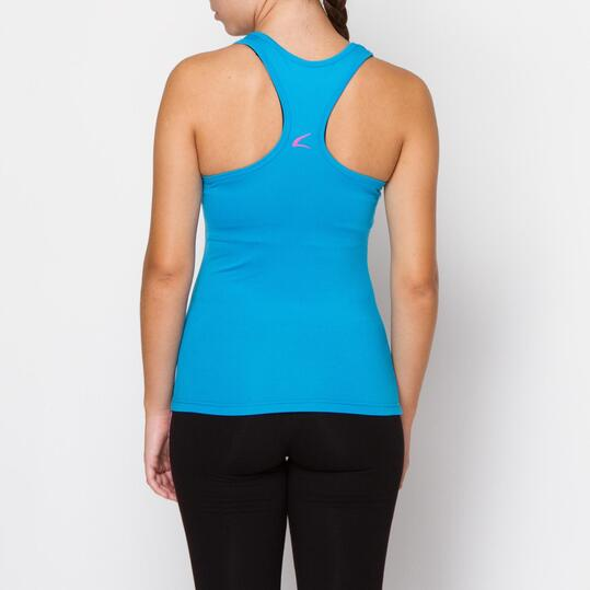 ILICO Camiseta Fitness Azul Mujer