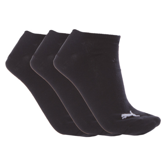 Calcetines Invisible PUMA Negro Mujer