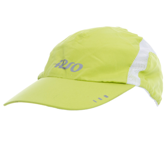 Gorra Ipso de running amarilla