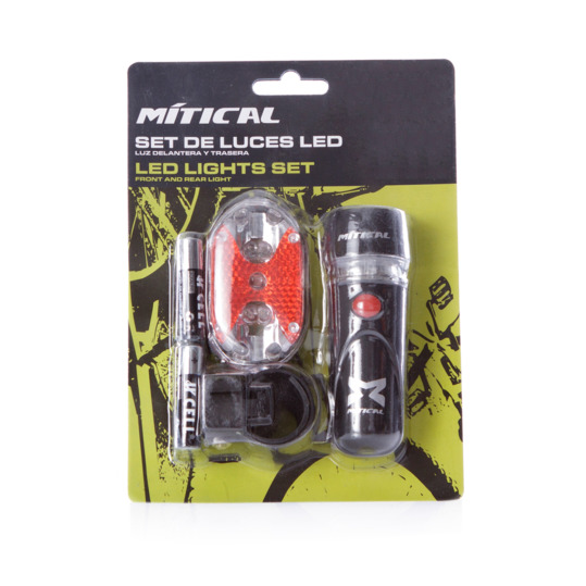 Set Luces Ciclismo MÍTICAL LED