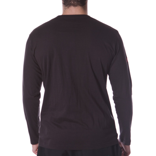 Camiseta Gris Manga Larga BORIKEN Hombre