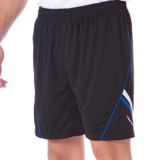 Pantalón Corto Fútbol DAFOR Negro-Azul Hombre