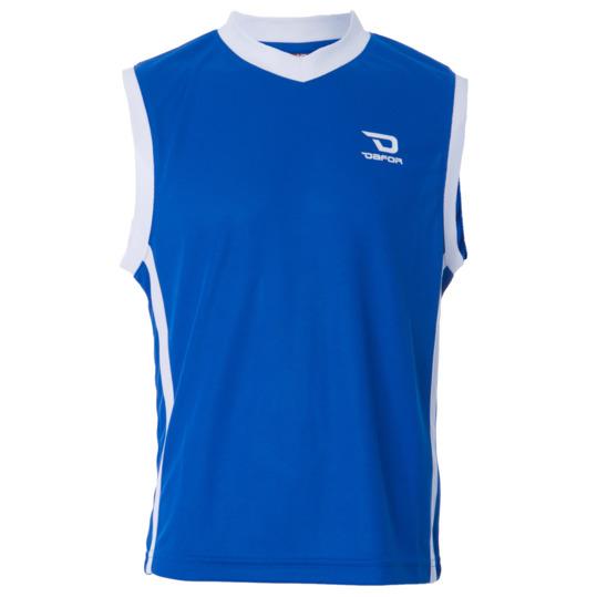 Camiseta sin mangas DAFOR Baloncesto niño en azul-blanco (10-16)