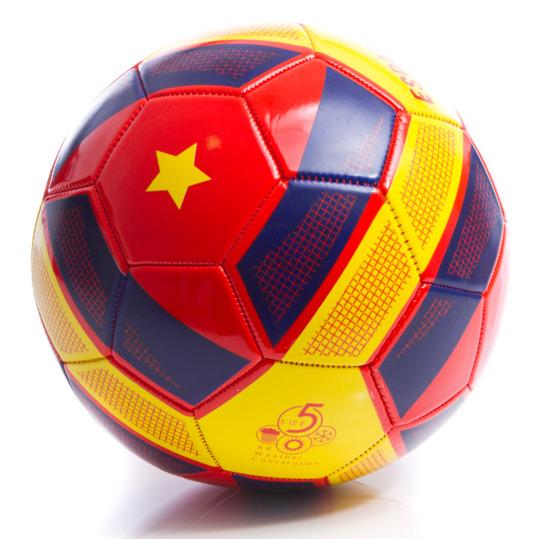 Balón Fútbol DAFOR ESPAÑA Rojo-Amarillo