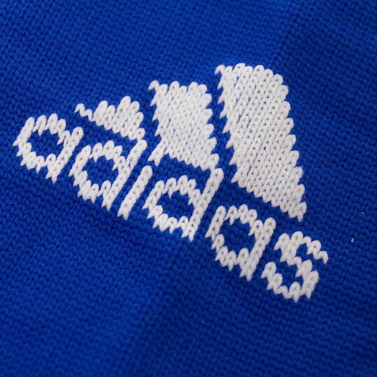 Medias Fútbol ADIDAS SANTOS Hombre Azul Blanco