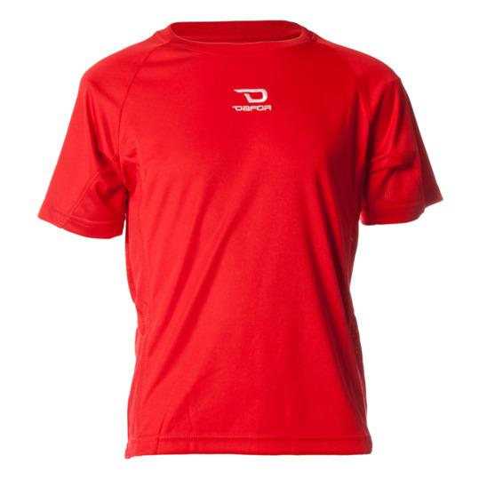 Camiseta manga corta de niño DAFOR en rojo (8-16)