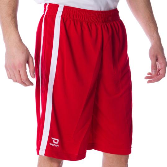Pantalón DAFOR Baloncesto Rojo